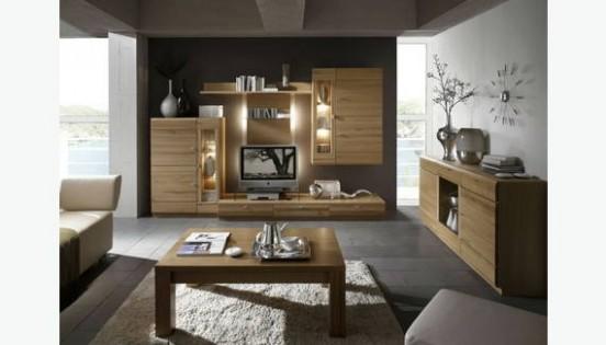 Obývací stěny z masivu - designové stěny - Truhlářství Miček