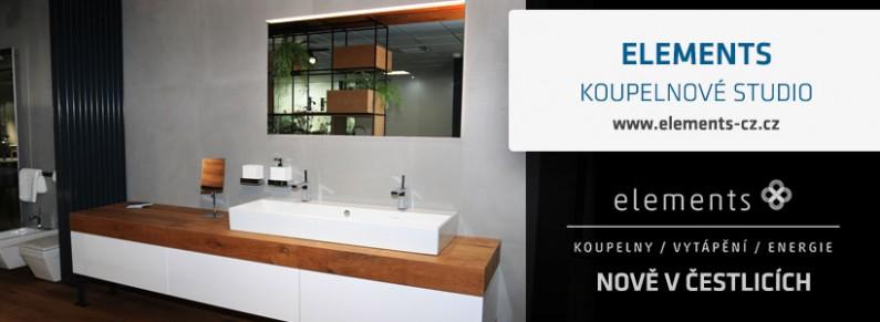 Hanák Forum - Nové koupelnové studio v Čestlicích - Elements