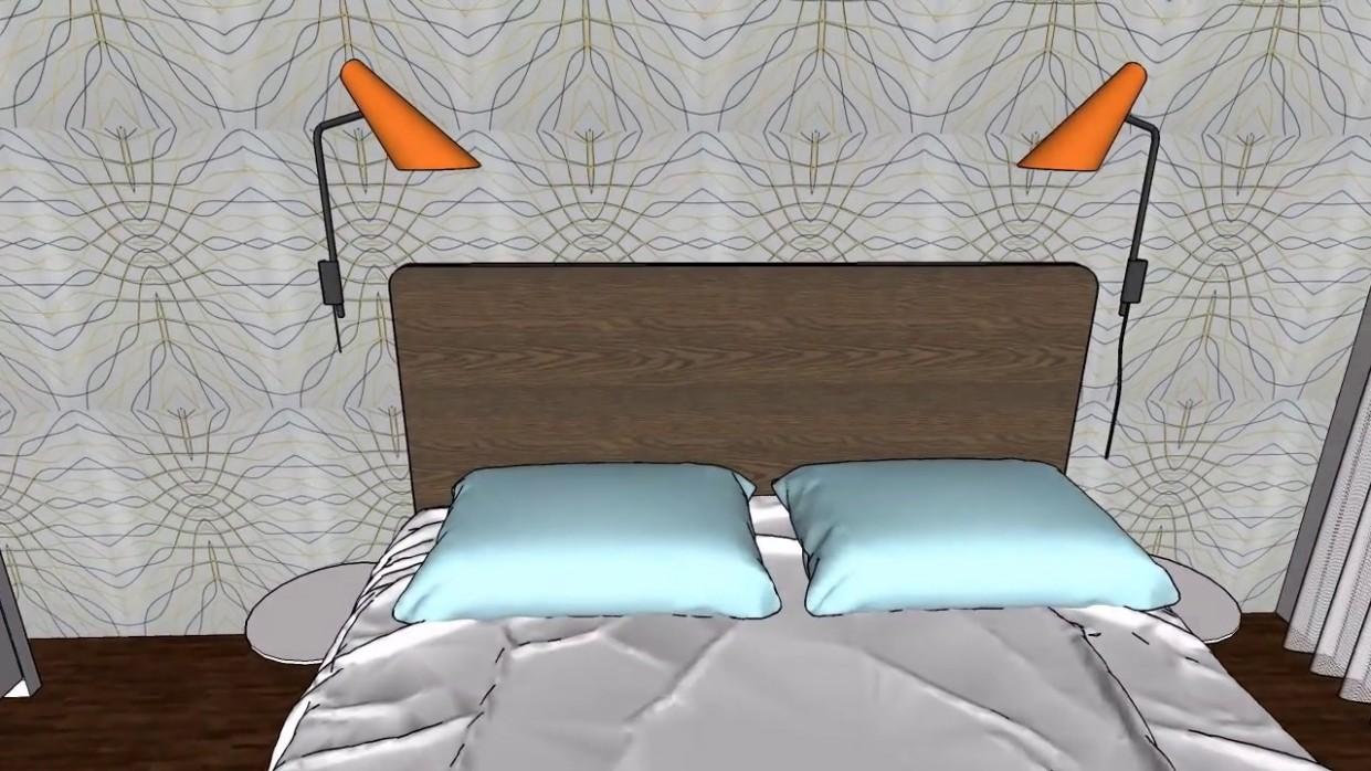 spálňa / posteľ jitona / ikea pax skrine - YouTube