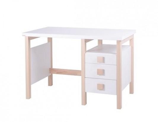 Psací stůl Henry I. Bílý. Dřevěný nábytek, dětský nábytek, postele z ...