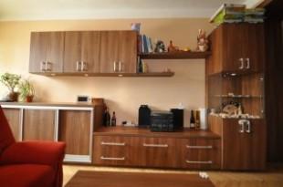 Obývací stěna, rohová skříň, stolek, rozkládací pohovka - Hlavní ...
