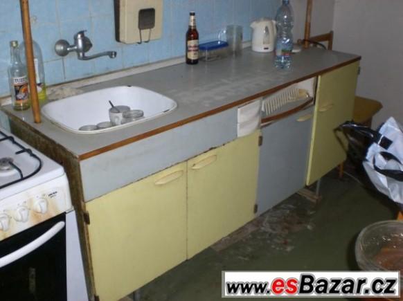 Kuchyňská linka - kredenc za odvoz, Brno-město, sbazar, avízo, bazoš