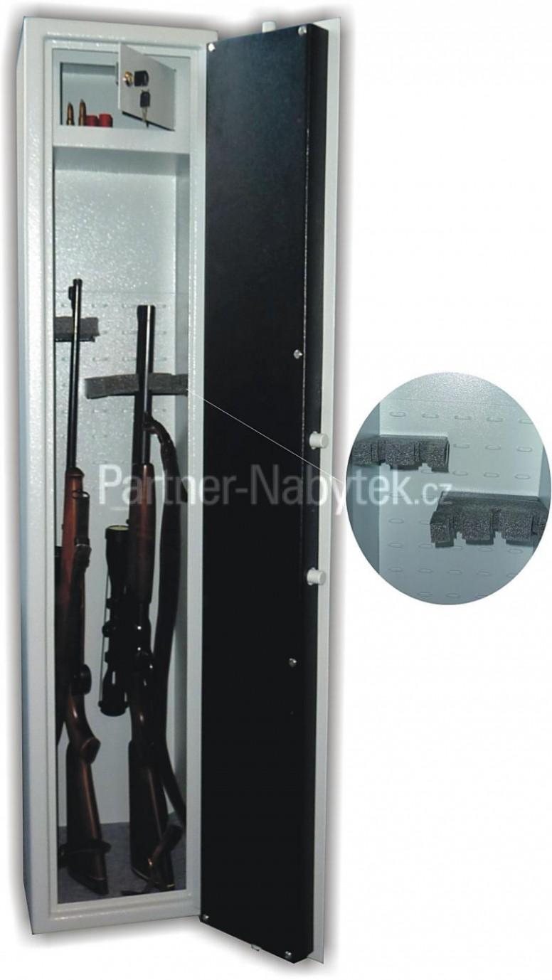 Trezorová skříň (na zbraně) WSA 21 variant, jednoplášťová   Partner ...