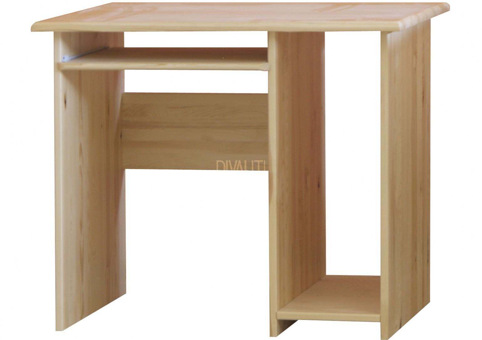 PC stůl z masivu malý   Moravia Flat s.r.o.
