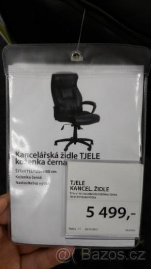Kancelářská židle / kancelářské křeslo - Teplice