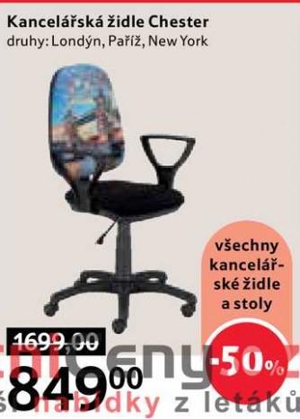 ARCHIV | Kancelářská židle Chester, 24 ks v akci platné do: 2424.24.20247 ...
