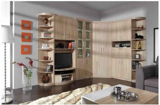 Rohové obývací stěny | Biano