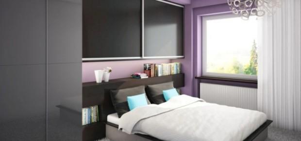 Vestavěné skříně do ložnice, nábytek do ložnice - Komandor