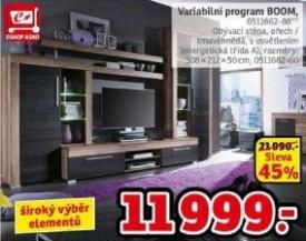 ARCHIV | Obývací stěna - variabilní program Boom v akci platné do ...