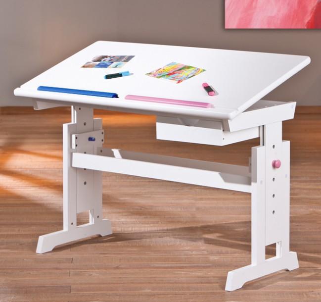 ROSTOUCÍ NÁBYTEK.eu • Dětský rostoucí psací stůl Halmar BARU