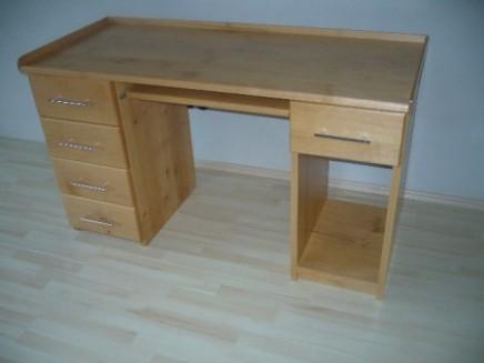 Psací stůl olše III.jpg :: STOLAŘSTVÍ - zakázková výroba