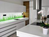 Bílá Kuchyňská linka Ikea