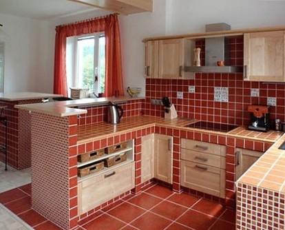 Zděná kuchyně byla jejich snem, tak si ji pořídili | Dům a zahrada ...