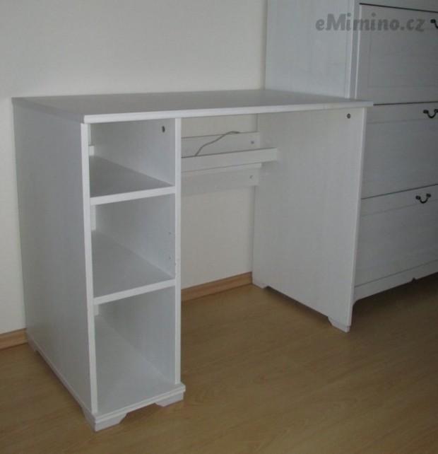 Psací stůl Ikea Borgsjo bílá Ikea - bazar, prodej - eMimino.cz