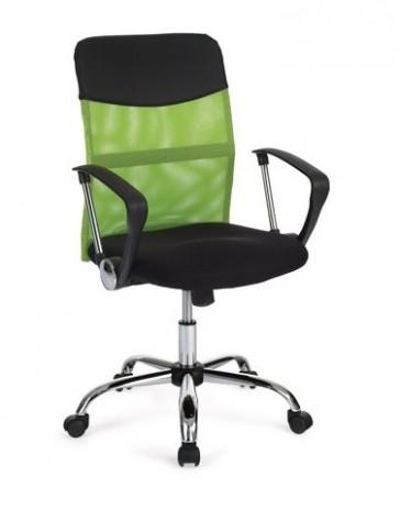 Kvalitní kancelářská židle s područkami KA-E20, zelená