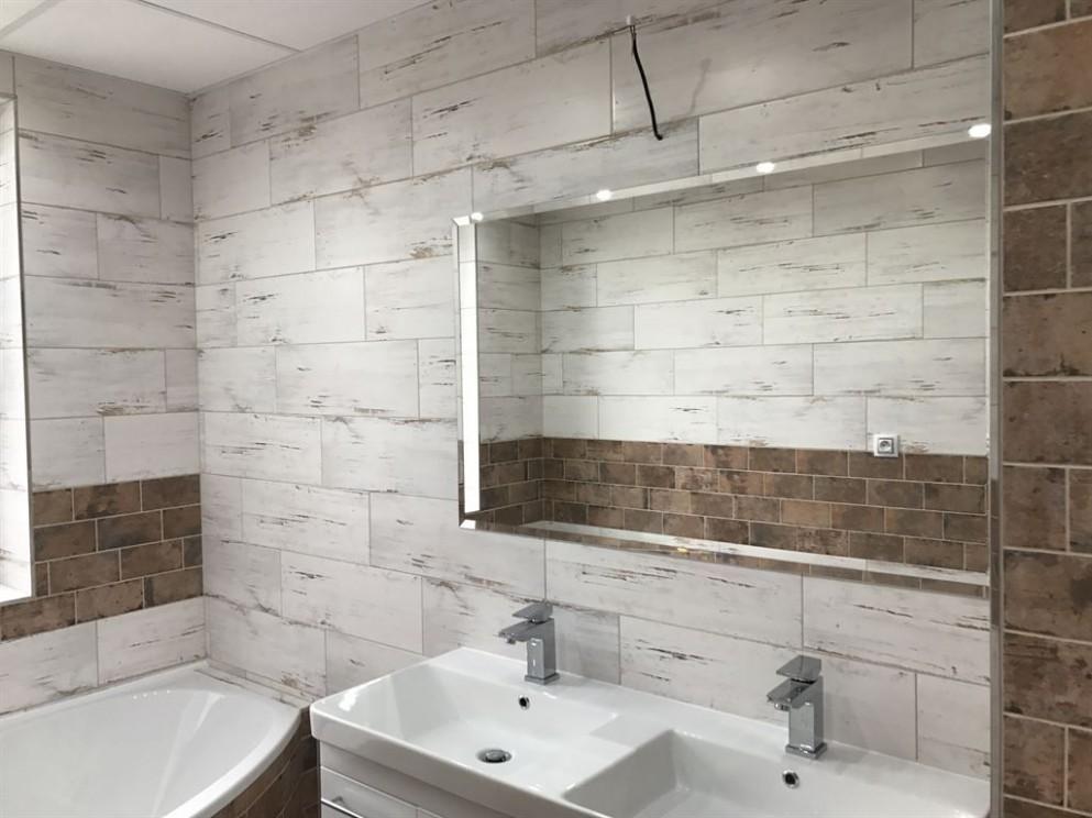 Rekonstrukce koupelny a WC rodinném domě
