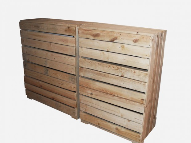 Skříně - komody | Komoda z palet Alice | Dřevěný nábytek v designu palet
