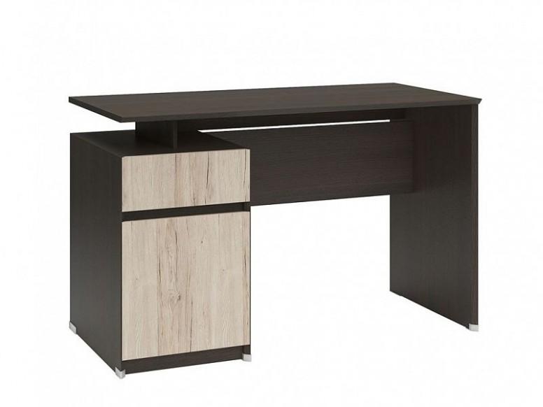 Psací stůl B27 BIU27D27S/2720 Wenge/Dub san remo světlý - ORFA Nábytek