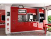 46 Svátecní šaty Obrázky z Kuchyňská Linka Červená