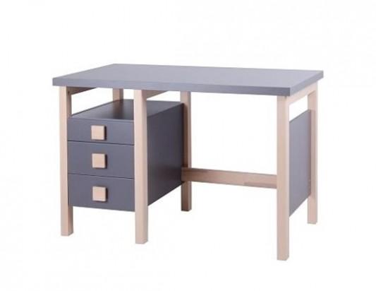 Psací stůl Henry I. Šedý. Dřevěný nábytek, dětský nábytek, postele z ...