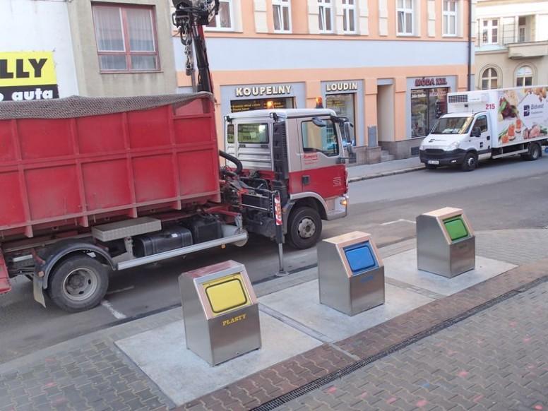 REFLEX Zlín, spol. s r.o. - Podzemní kontejnery v Táboře