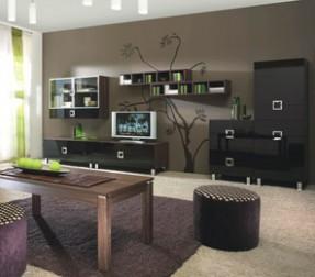 Obývací stěna Quadro O25 • www.obyvaci-steny.org