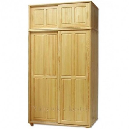 Skříň posuvné dveře | Skříň z borovice | Masivní šatní skříň ...