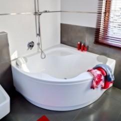Rohové vany do koupelny - moderní design, skvělé ceny   Kachličky VP