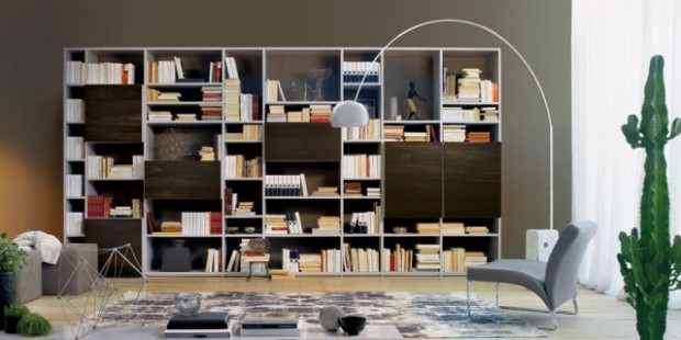 Moderní obývací stěny | OLIVIERI Praha