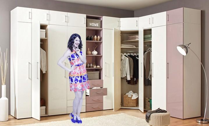 Mia a perfektní šatník   Möbelix Blog