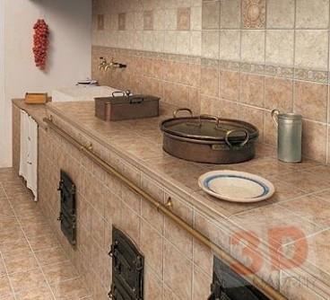 Zděná kuchyňská linka a zděné kuchyně | 19D Návrhy s.r.o.