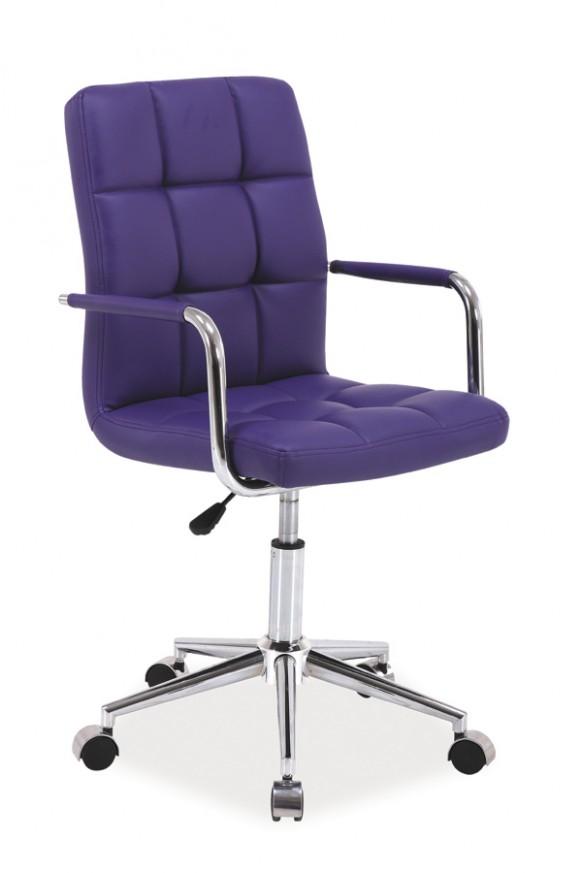 Q-20 kancelářská židle, fialová :: NEJČI nábytek