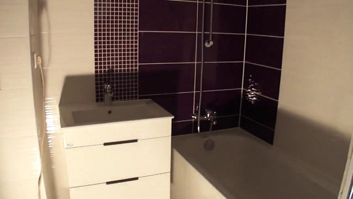 Rekonstrukce koupelny v paneláku Trutnov - YouTube