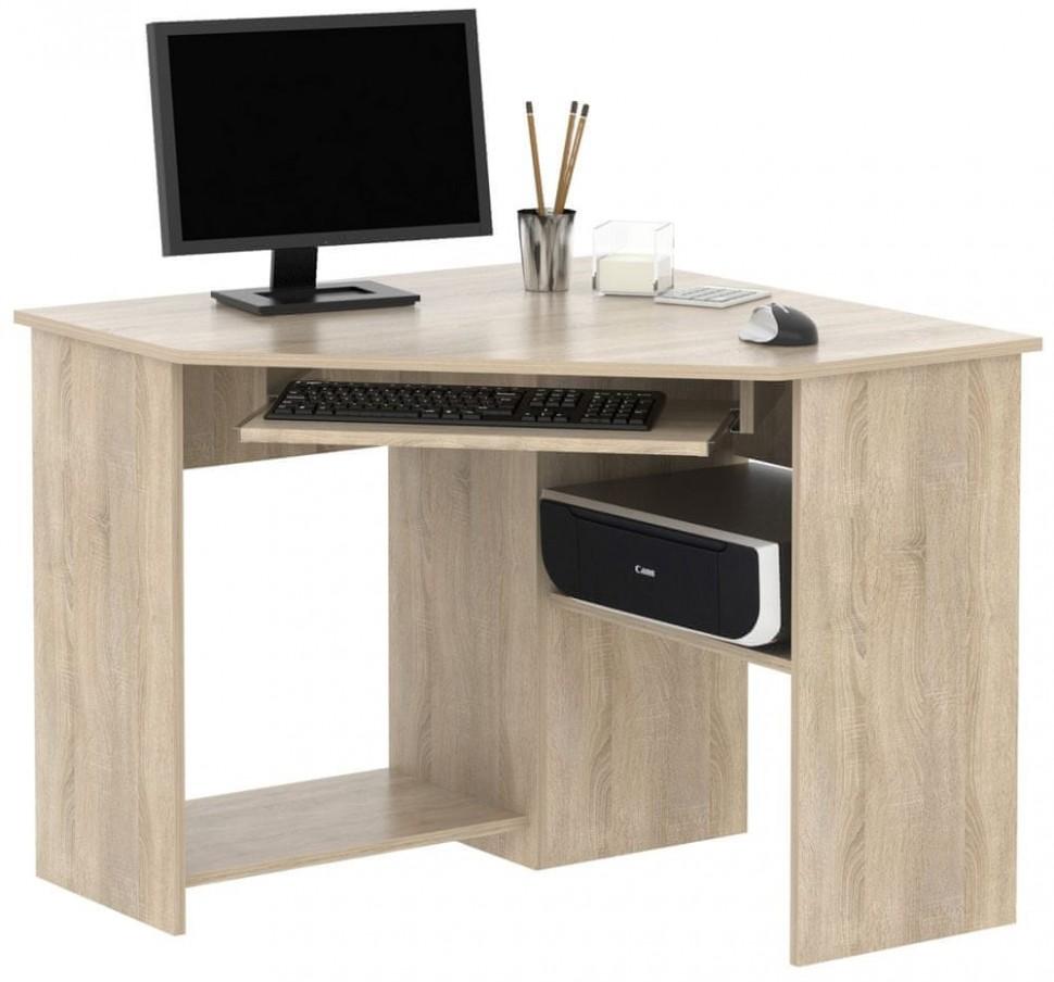 PC stůl rohový SMART 15, dub sonoma - Parametry   MALL.CZ