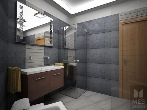 Návrh koupelny, Brno - obec Vavřinec | markhome