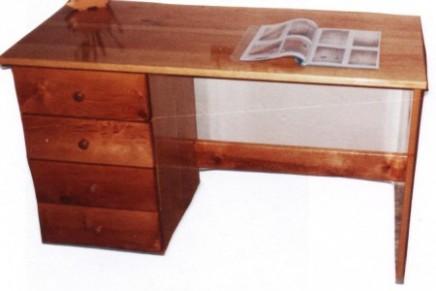 psací stůl -olše celomasív.JPG :: STOLAŘSTVÍ - zakázková výroba