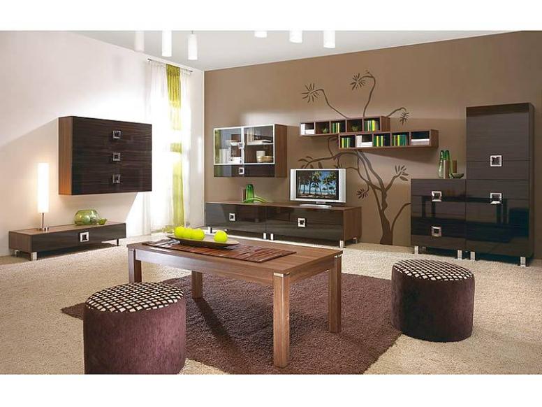 Obývací stěna QUADRO | Nábytek-Eva.cz - luxusní nábytek