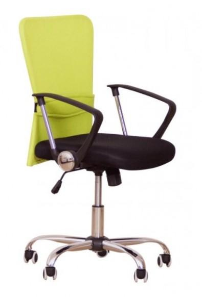 Kancelářská židle zelená, nosnost 20 kg