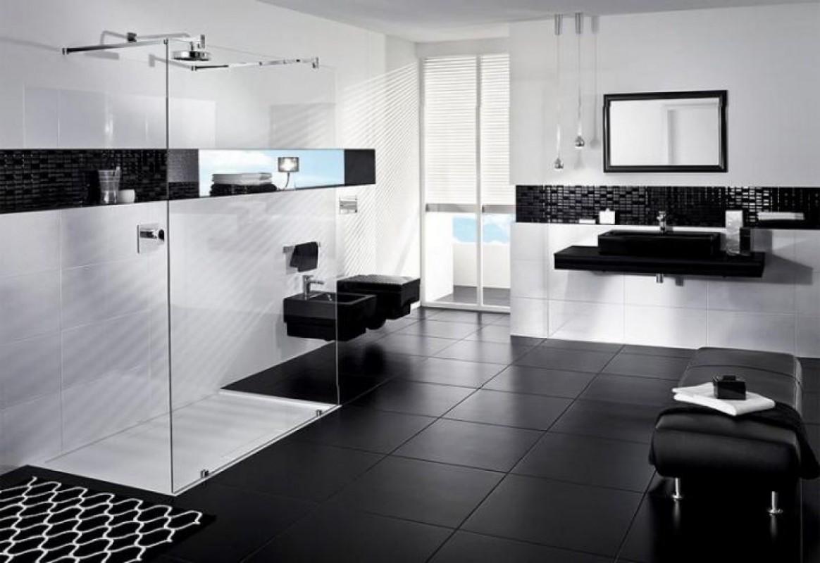 Černobílá koupelna 25x jinak | Living.cz
