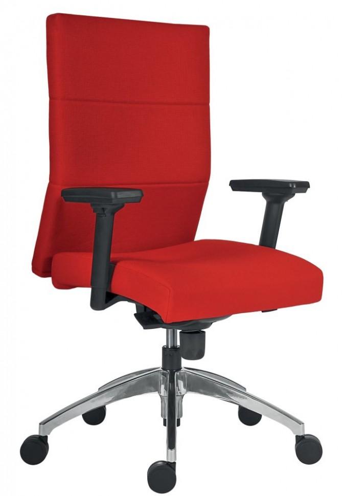 Kancelářská židle ANTARES VERTIKA 21, čalouněná - potah syntetická ...
