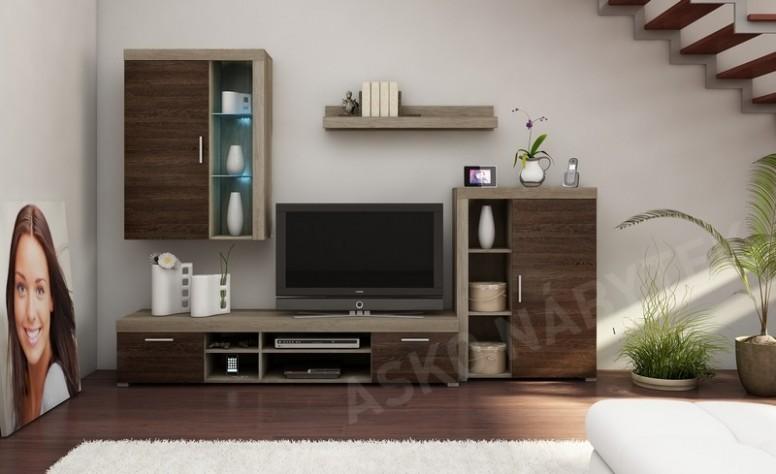 Obývací stěna TOM 21 | ASKO - NÁBYTEK