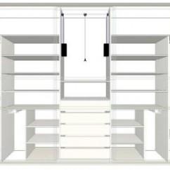 Inspirace ložnice: vestavěné skříně