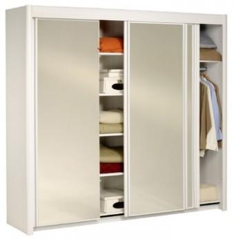 Prostorné šatní skříně z lamina | Nábytek Aldo