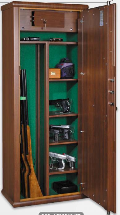 Luxusní skříň na čtyři zbraně Araldo kombi, wood line   S21 ...