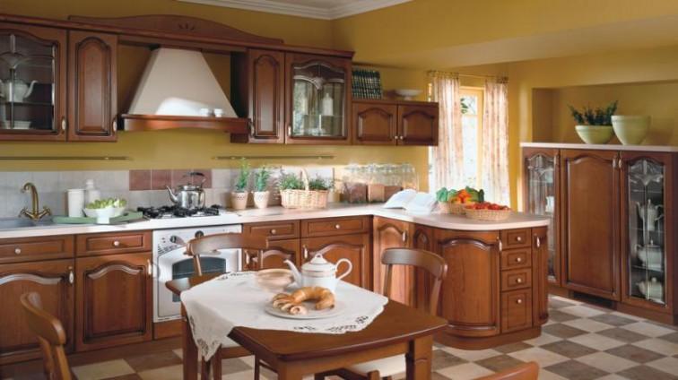 Nábytek - Klasické a rustikální kuchyně - nábytek Olomouc, Prostějov ...