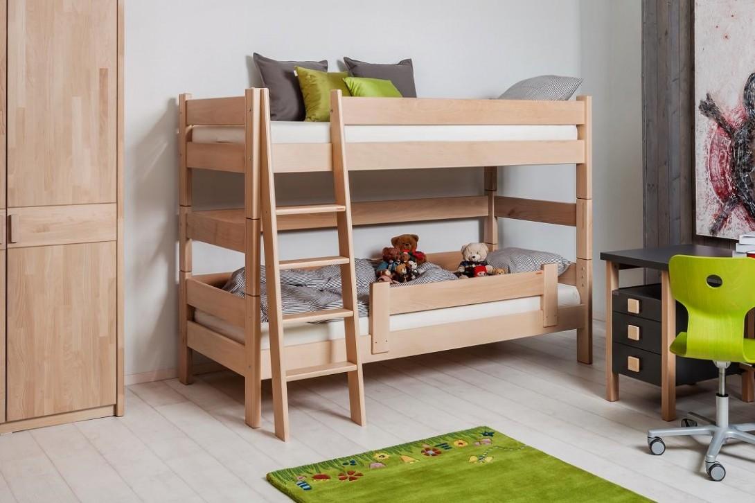 Gazel palanda etážová postel Sendy BUK výška 11 cm + Akce / Postele ...