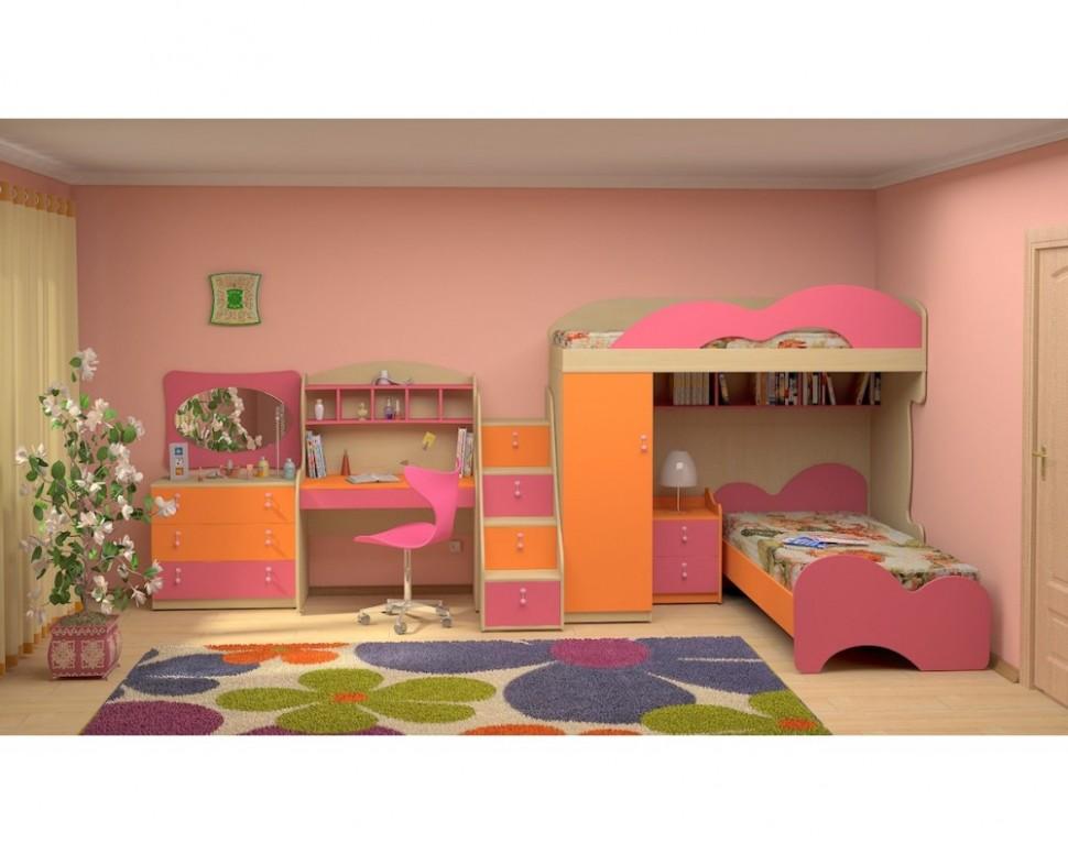 Dětská patrová postel elko MIA-13 - Dětské pokoje INTENA