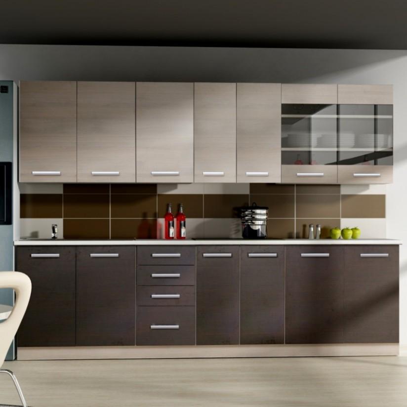 Kuchyňská linka Wiktoria Chamonix/legno 21 bez pracovní desky / BAUMAX