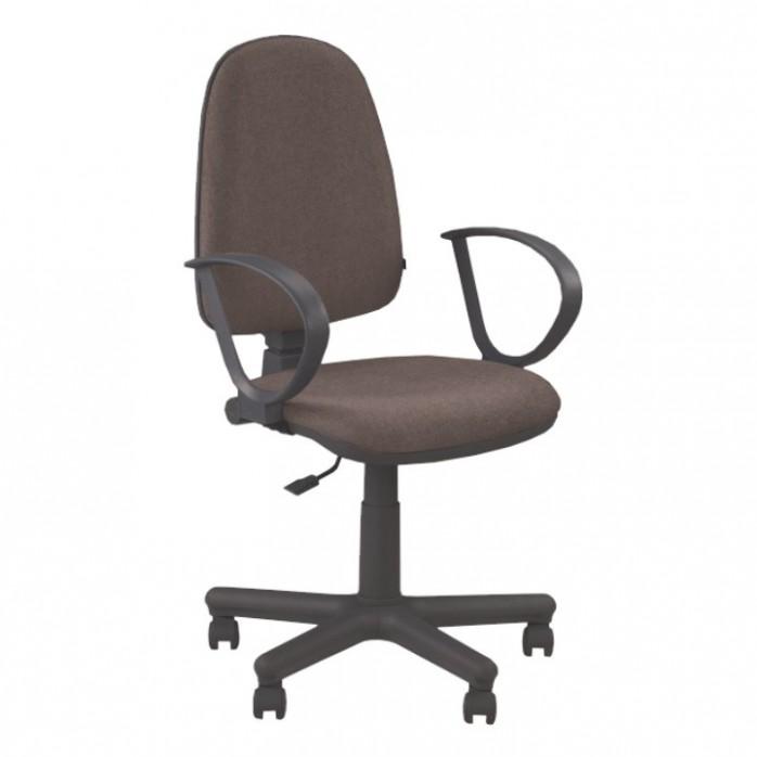 Kancelářská židle JUPITER GTS - hnědá + područky | ATAN nábytek