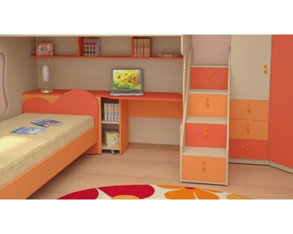 Dětská patrová postel elko MIA-13 - Nábytek INTENA